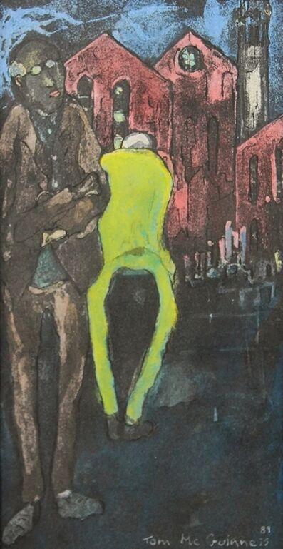 Tom McGuinness, 'Miner starting shift', 1989