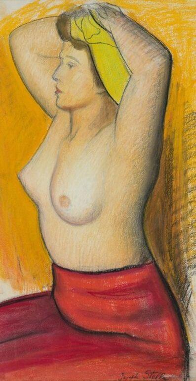 Joseph Stella, 'Seated Half Nude'