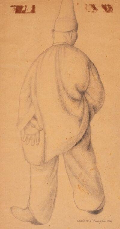 """Antonio Donghi, 'Studio per """"Carnevale""""', 1924"""