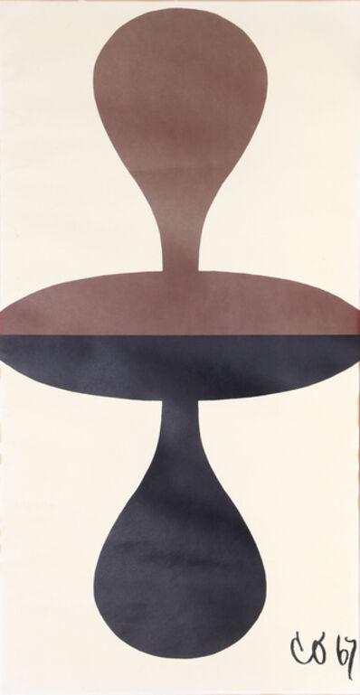 Claes Oldenburg, 'Double Punching Bag', 1967