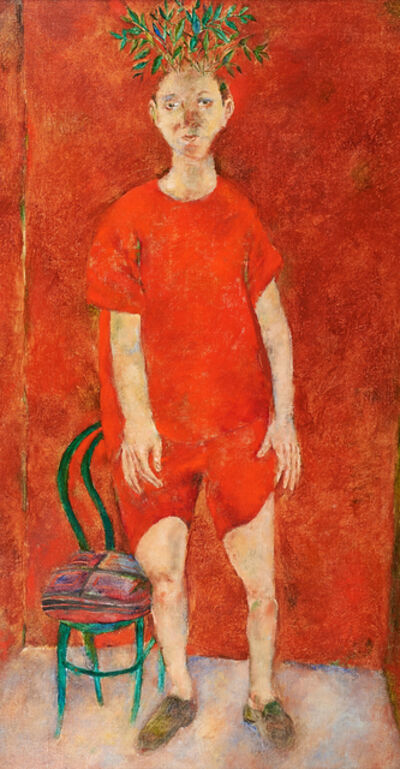 Arturo Rodriguez, 'Dreamer in Red', 1986