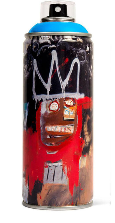 Jean-Michel Basquiat, 'Limited edition Basquiat spray paint can', ca. 2017