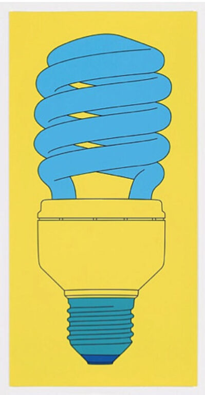 Michael Craig-Martin, 'Bulb (From: Fundamentals)', 2016