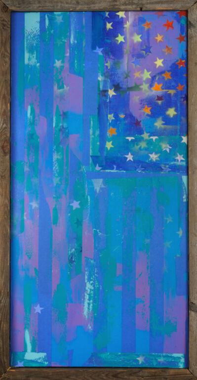 Rachael Bohlander, 'United, We Are (Flag No.3)', 2017