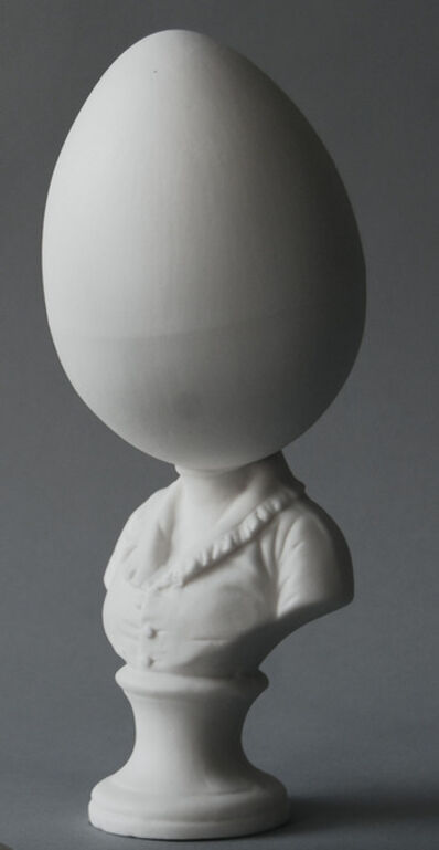 Matt Smith, 'Egghead Bust (Large)', 2018