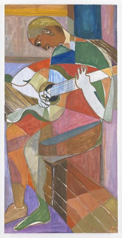 Ficre Ghebreyesus, 'Seated Musician V', 2011