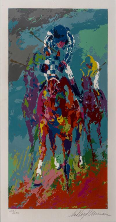 LeRoy Neiman, 'Leroy Neiman Secretariat II Signed Serigraph Contemporary Art', 1990