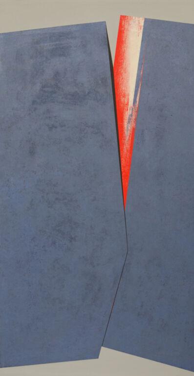 Silvia Lerin, 'Hendidura central con rojo (Central fissure with red)', 2010