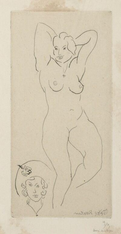 Henri Matisse, 'Nu Epoque du Chapeau Jaune (Duthuit 220)', 1929