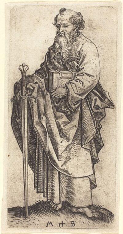 Martin Schongauer, 'Saint Paul', ca. 1480