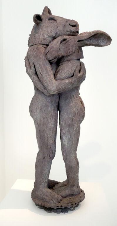 Sophie Ryder, 'Hugging Maquette', 2008