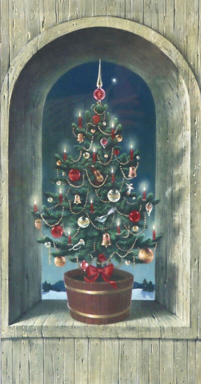 Charlotte Sternberg, 'Tree in Weathered Niche', 1964