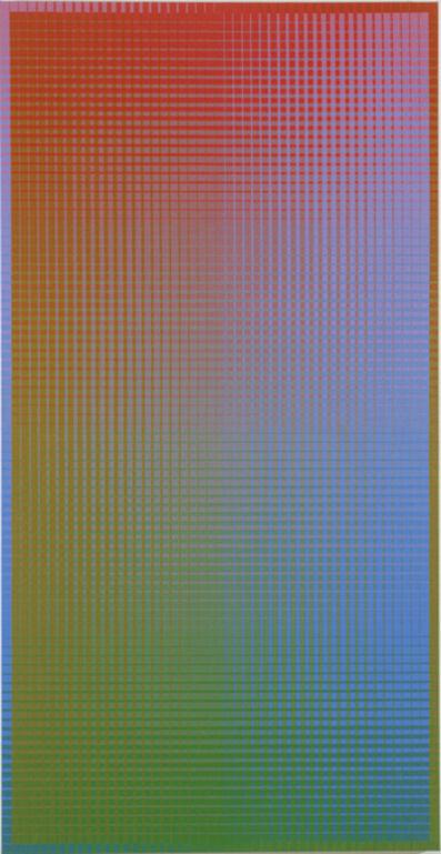 Sanford Wurmfeld, 'II-15#1B (R-G/=V) (Vertical)', 2001
