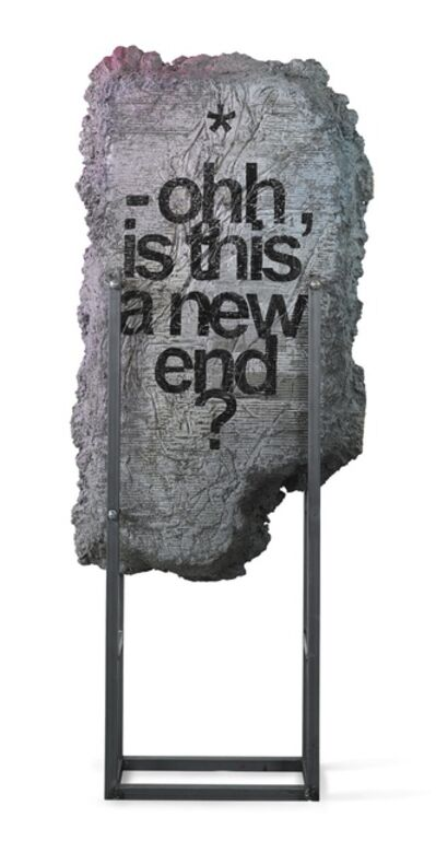 Ivan Argote, 'Excerpts : Ohh, is this a new end?', 2014