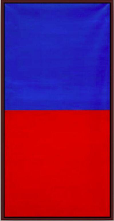 Albert Mertz, 'Rød / Blå I', 1987