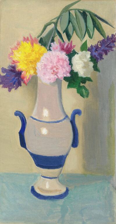 Joseph Stella, 'Flowers in a Vase', ca. 1930