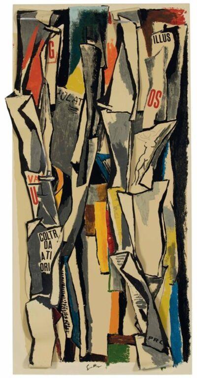 Renato Guttuso, 'Edicole', 1965