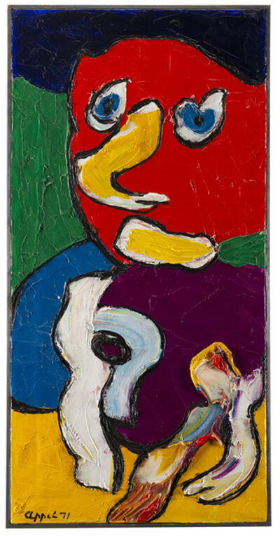 Karel Appel, 'Untitled (Chelsea People Series)', 1971