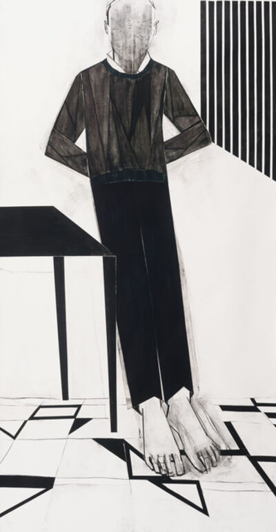 Iris Schomaker, 'Untitled (Leaning Against the Wall)', 2018