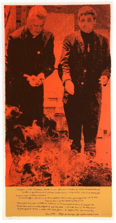 Corita Kent, 'phil and dan', 1964