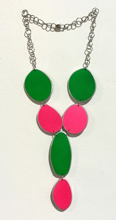 Carolina Sardi, 'Green & Pink Neon Necklace', 2015