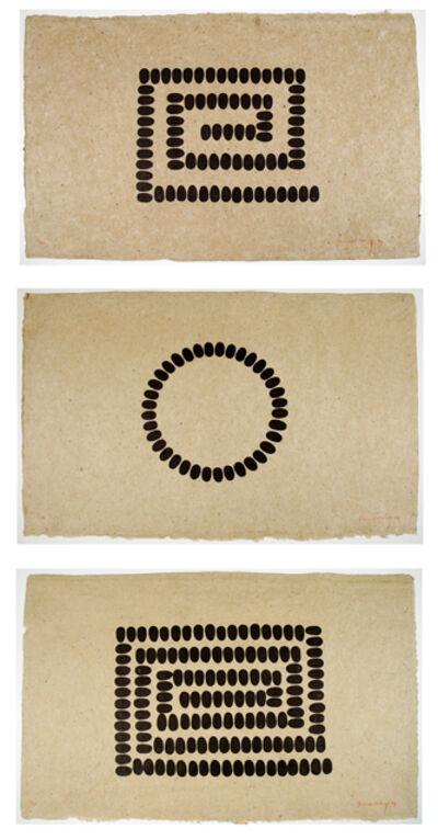 Richard Long, 'Untitled (A, B and C - Horizontal)', 1994