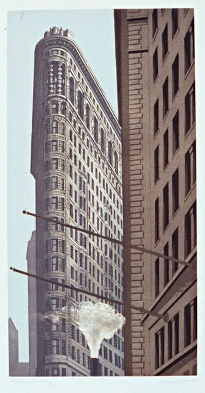 Richard Haas, 'Flatiron Building', 1992