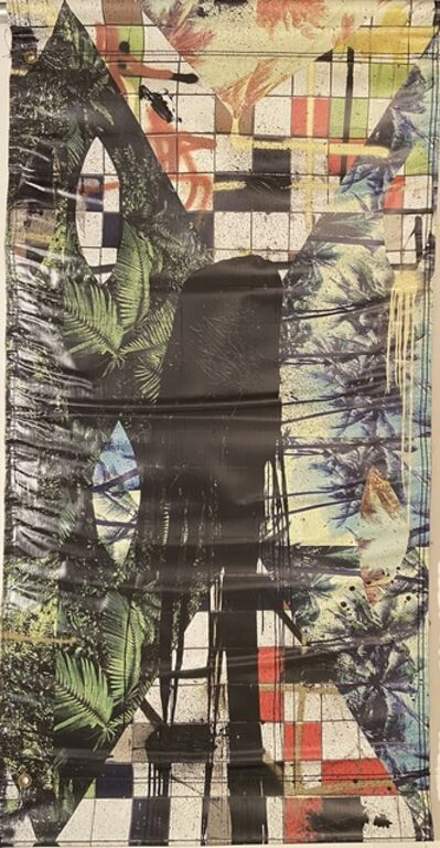 "Rashid Johnson, 'Rashid Johnson ""Hail We Now Sing Joy"" Street Banner SUPER RARE', 2017"