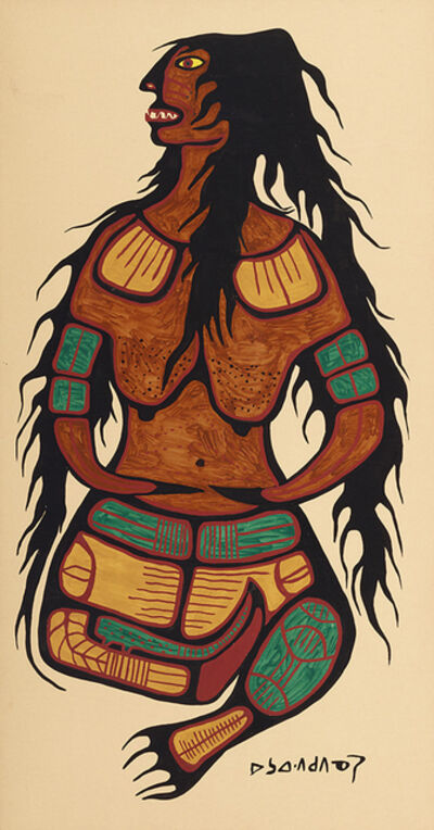 Norval Morrisseau, 'Earth Mother', ca. 1964