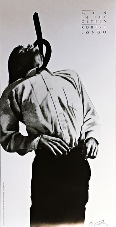 Robert Longo, 'Men in the Cities (Eric)', 1991