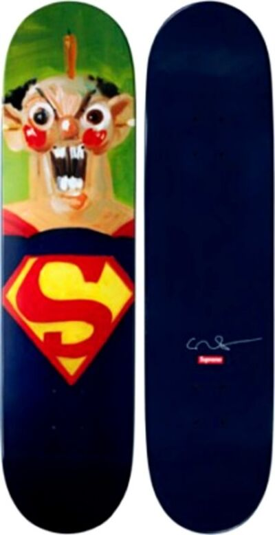 George Condo, 'Superman Skateboard (Limited Edition)', 2010
