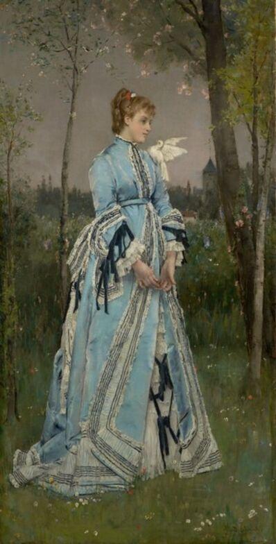 Alfred Stevens, 'Spring', 1877