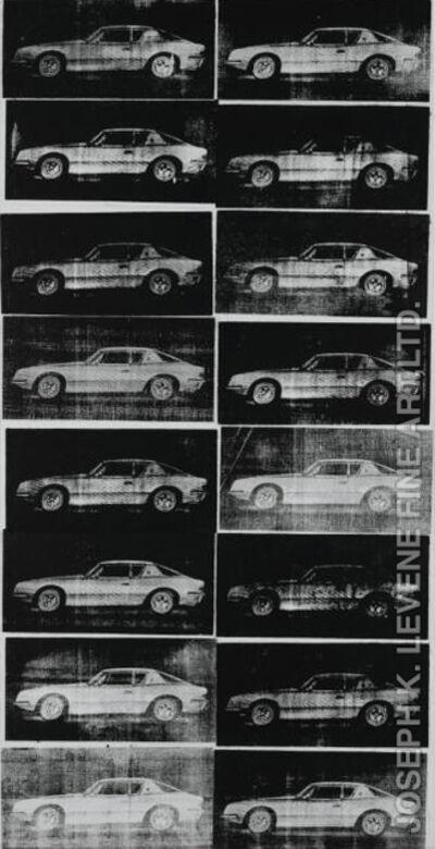 Andy Warhol, 'Avanti Cars', 1962
