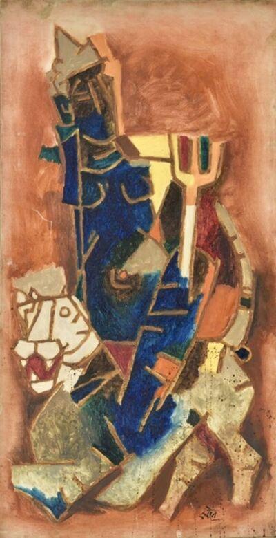 M. F. Husain, 'Durga', 1969