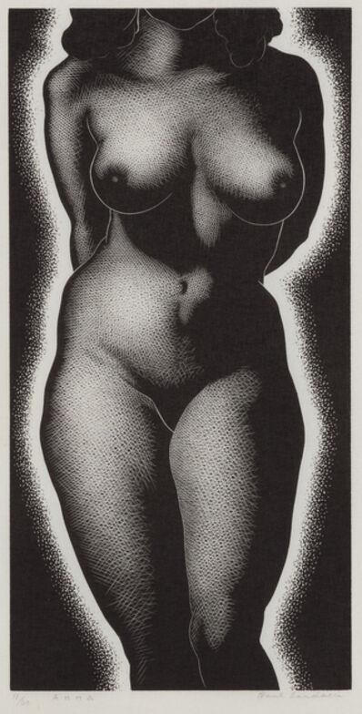 Paul Landacre, 'Anna', 1938