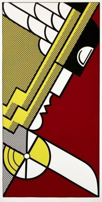 Roy Lichtenstein, 'Salute to Aviation', 1968