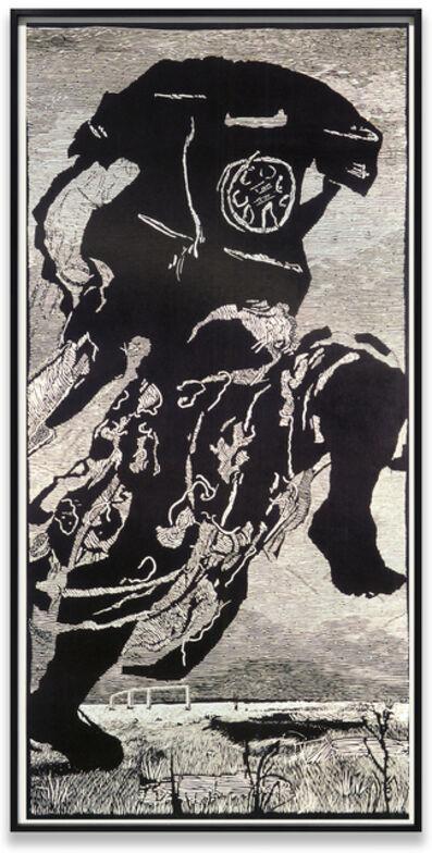 William Kentridge, 'Telephone Woman', 2000
