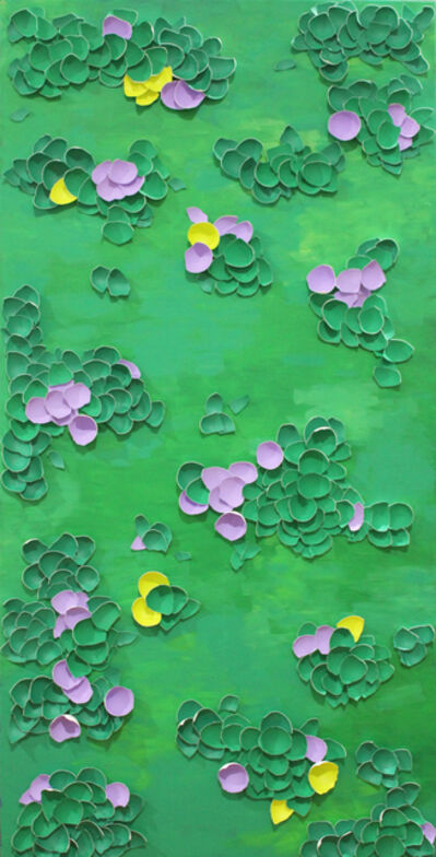 Larisa Safaryan, 'Flowers on the Grass', 2017
