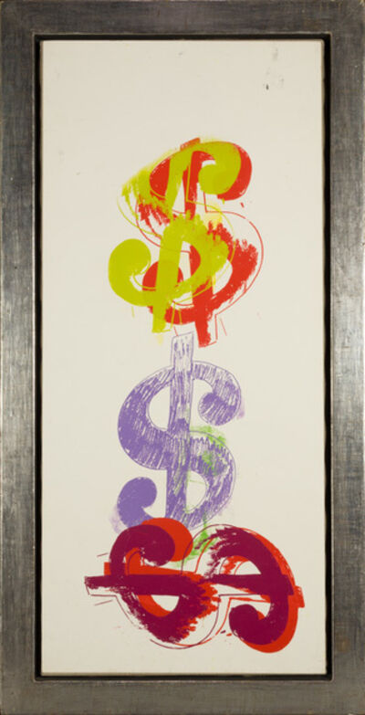 Andy Warhol, '$ Triple ', 1982