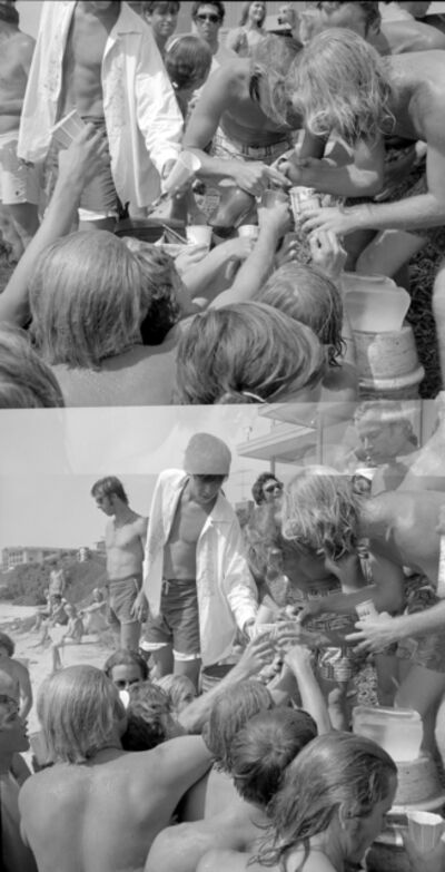 Roy Porello, 'Keg Party, Sea Lane, La Jolla, CA', 1968