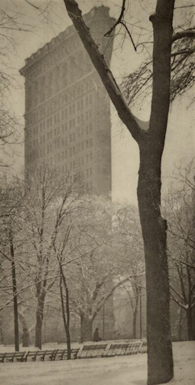 "Alfred Stieglitz, 'The ""Flat-iron""', 1903"
