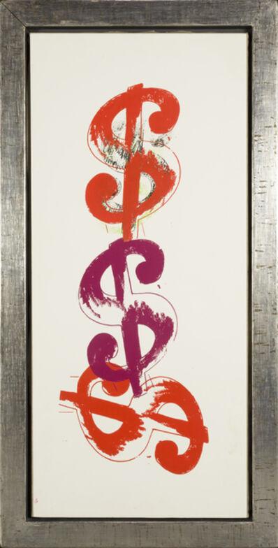 Andy Warhol, '$ Triple ', 1982