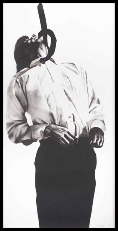 Robert Longo, 'Eric from Men in the Cities', 1985