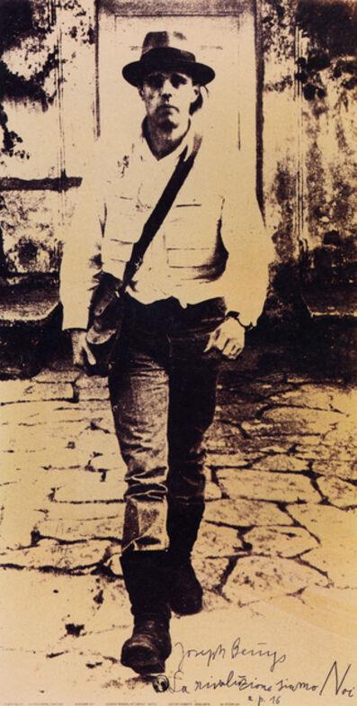 Joseph Beuys, 'La rivoluzione siamo Noi', 1972
