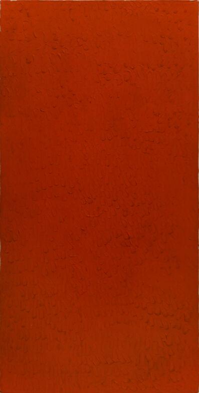 Bernard Aubertin, 'Monochrome rouge', 1974