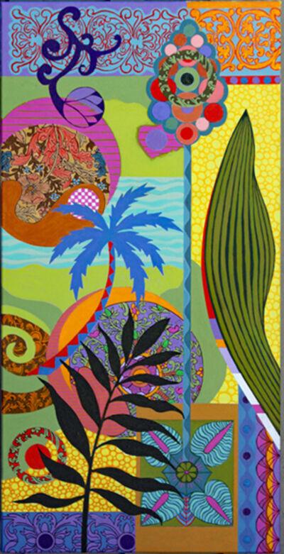 Frances Ferdinands, 'Blue Palms', 2018