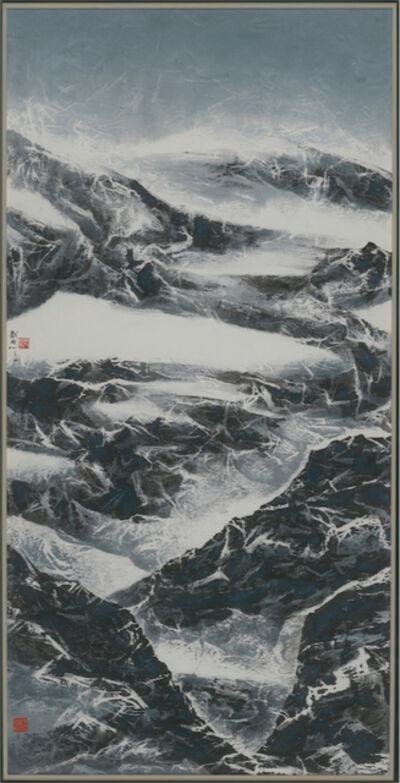 Liu Kuo-sung 刘国松, 'Winter Dusk Better than Autumn Dawn', 2014