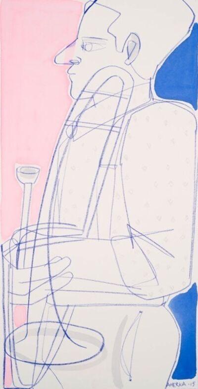 America Martin, 'Brass Trombone', 20015