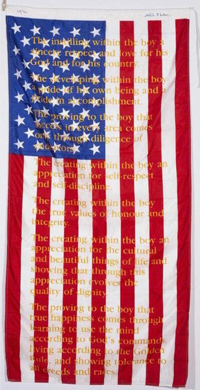 Attila Richard Lukacs, 'American Flag Editions'