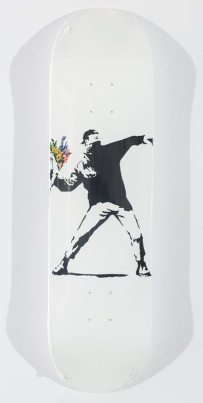 Banksy X Brandalism, 'Flower Bomber', 2017